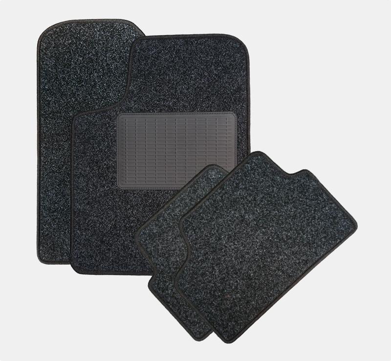 Universalmåtter i nålefilt - sæt med 4 måtter - inkl. plasthæleplade